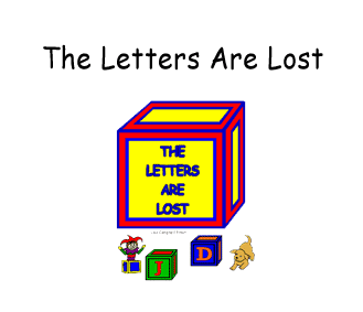 Preschool - Early Childhood Literary Curriculum based on the storybook The Letters are Lost by Lisa Campbell Ernst