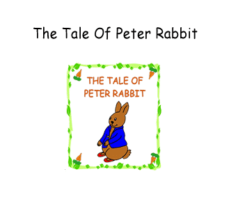 Preschool - Early Childhood Curriculum based on the storybook The Tale of Peter Rabbit by Beatrix Potter