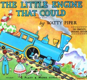 The Little Engine That Could storybook by Watty Piper
