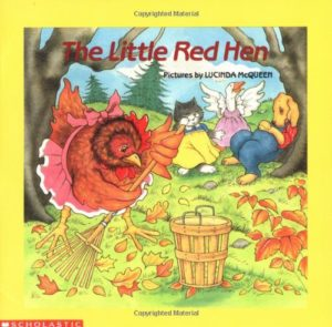 The Little Red Hen storybook