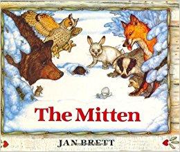 The Mitten storybook by Jan Brett