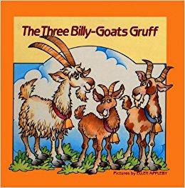 The Three Billy-Goats Gruff storybook
