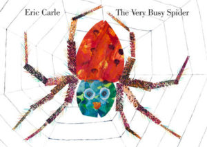 The Very Busy Spider storybook by Eric Carle